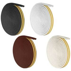 New-Self-Adhesive-Silicone-Rubber-Wind-Weather-Strip-Window-Door-Sealing-Tape