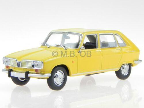 Renault 16 R16 1965 gelb Modellauto 940113101 Maxichamps 1:43