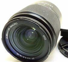 Sony 18-70mm f3.5-5.6 DT Lens --  for  A mount SLR A58 a37 a57 a33 a550 cameras