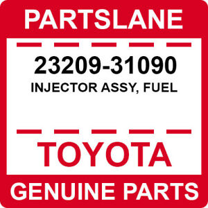 FUEL 23209-66010 Toyota OEM Genuine INJECTOR ASSY