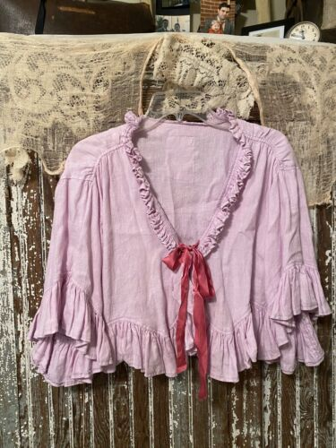 Magnolia Pearl Pink Cropped Jacket Top