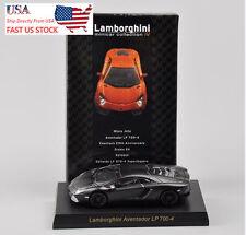 KYOSHO Lamborghini LP700-4 Black Car Model Toy 1:64 Scale Children Gift U.S.A.