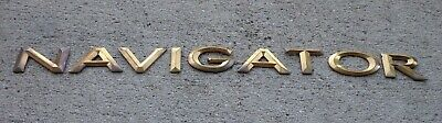 Lincoln emblem letters badge decal logo Navigator Aviator MKZ OEM Genuine Stock