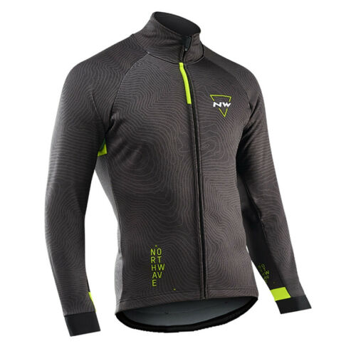 Men Cycling Jersey Jacket Bike Wear Motocross Coat Tight Off Road Long Shirt Top