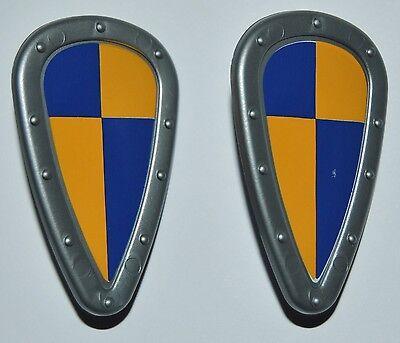 27075 Escudo lágrima arlequinado 2u playmobil,medieval,shield,crusader,knight