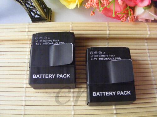 2x 3.7V Battery for GoPro AHDBT-302 HD HERO3 HERO3 AHDBT-301 AHDBT-201