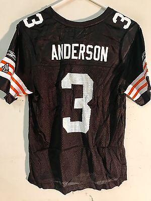 Reebok Women's NFL Jersey Cleveland Browns Derek Anderson Brown sz L | eBay