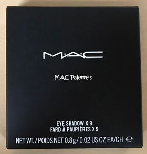 M-A-C-MAC-Eyeshadow-Times-Nine-Palette-Choose-Color-Discontinued-Brand-New