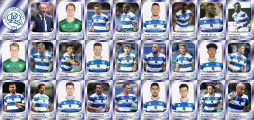 Queens Park Rangers Fútbol Squad Trading Cards 2017-18