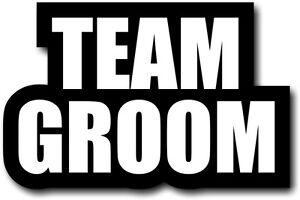 #WordProps Large - TEAM GROOM
