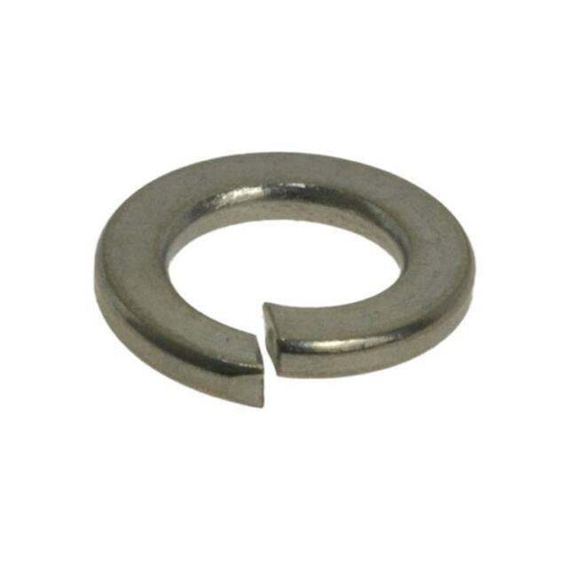 G304 Stainless Steel M3 (3mm) Metric Single Coil Spring Washer