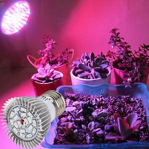 Heiss-18-LED-E27-Wachsen-Lampe-Veg-Blumen-Fuer-drinnen-Hydroponischen-Pflanze-Pr