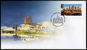 2018-Beautiful-Cities-Unissued-Self-Adhesive-FDC-Stamps-Australia-Post