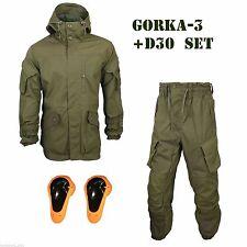 Military Suit GORKA-3 + D3o T6 Kneepads Original SPLAV Russian Tactical Mountain
