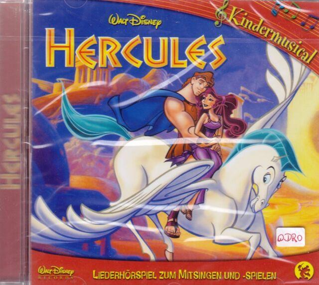 Walt Disney + CD + Hercules + Kindermusical + Zum Mitsingen und Mitspielen + NEU