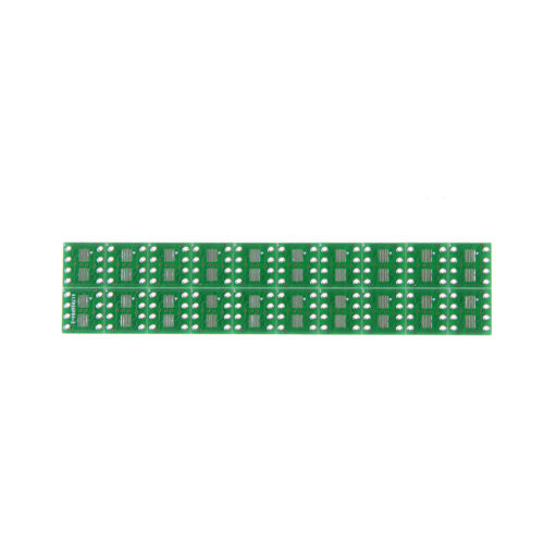 20 PCS SOP8 SO8 SOIC8 SMD to DIP8 Adapter PCB Board Convertor Double Sides L^