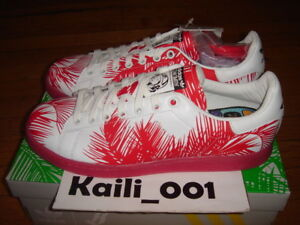 fa653be3b00dd Adidas PW Stan Smith BBC Palm Tree Size 9.5 RED Pharrell Williams ...