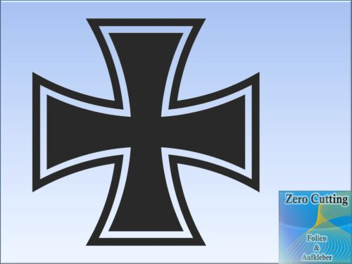 Cruz cruz pegatinas WW II Army portátil PC ek Iron Cross auto BW Decals diapositiva