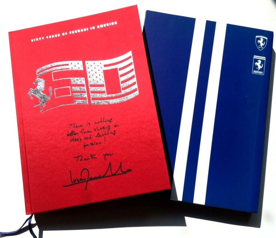 Ferrari 60th Anniversary Hardback Coffee Table Book 208457 Algar Ferrari Rare!!!