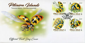 Pitcairn-Islands-2017-FDC-Transverse-Ladybird-4v-Cover-Ladybirds-Beetles-Stamps