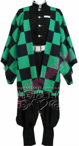 Kimetsu no Yaiba Kamado Tanjirou Cosplay Costume