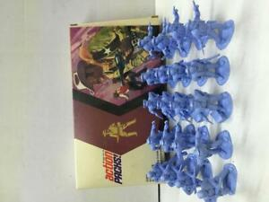 Model-Toys-Action-Packs-Timpo-Toy-Soldiers-SET-20x-Wild-West-COWBOYS-MIB-Vintage