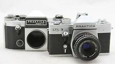 Praktica LTL 3 & Super TL, 2x analog camera body + 1x lens Meyer Domiplan 2,8/50