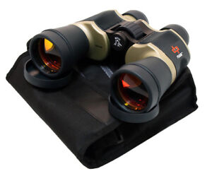 20x60 Extremely High Quality Perrini Binoculars With Pouch Ruby Lense 692762184960