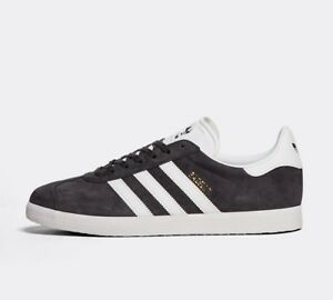 Image is loading Mens-Adidas-Gazelle-OG-85-Grey-White-Gold- f4ce1d2f0