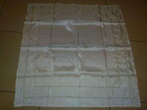Tisch Decke Tischdecke Mitteldecke Tischläufer 40x160cm Creme Weiß