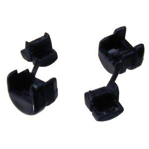 Zugentlastung für Flachkabel mit 2,3 .. Kabeldurchführung 4,5 mm schwarz