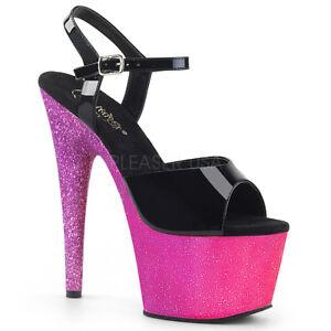 Adore Sandals Pole Platform Dancing Pink 709ombre lavender Shoes Pleaser 1aqRnTHwdH
