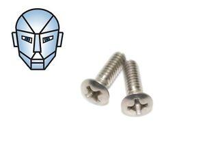 Pair-Stainless-Phillips-Head-Grip-Screws-To-Suit-Crosman-1377-2240-2250