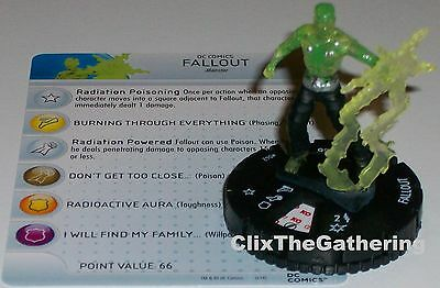 Heroclix The Flash # 042 Fallout
