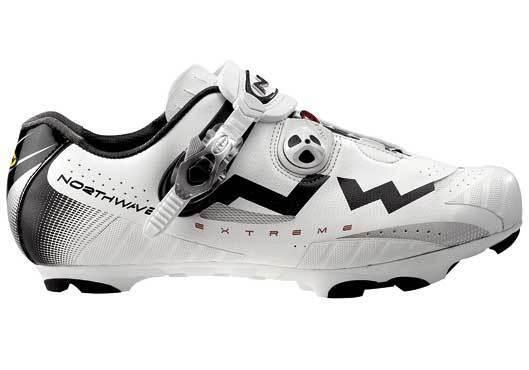 Schuhe von mtb Northwave Extreme mod. TECH SBS weiß/schwarz