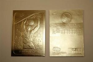 CHARLES-BARKLEY-1986-Fleer-ROOKIE-23KT-Gold-Card-NM-MT-Serial-Numbered-BOGO