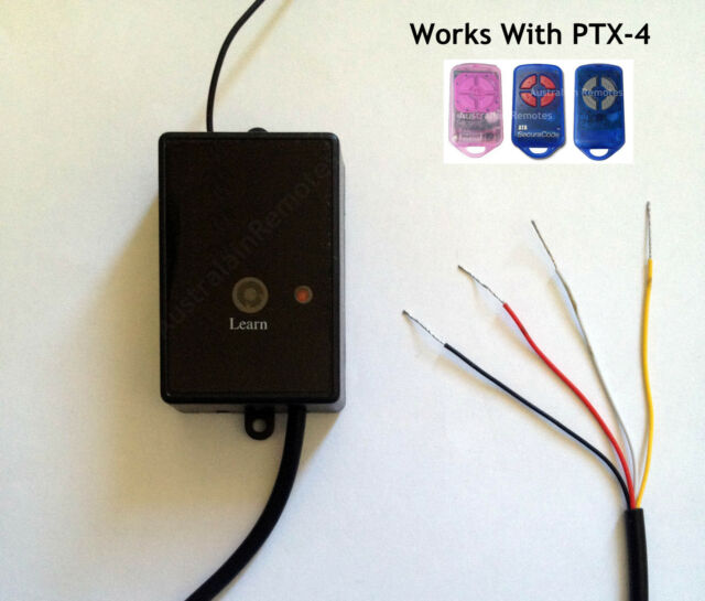 Stand Alone Radio Receiver Accepts ATA PTX-4 Remote Controls replace CRX-1 CRX-2