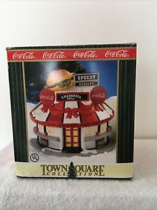 COCA COLA TOWN SQUARE BUILDING - SPEEDY BURGER - 1998 - RETIRED