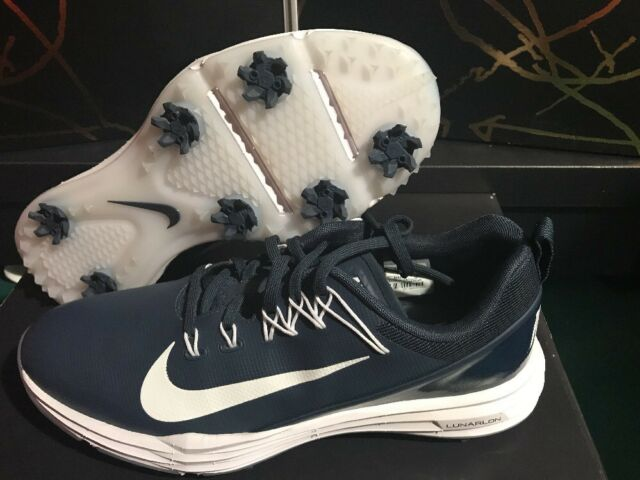 the latest ea1ec 3b0e5 Nike Mens Lunar Command 2 Golf Shoes 849968-400 - Thunder BlueWhite sz