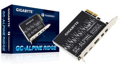 Gigabyte GC-ALPINE RIDGE Thunderbolt 3 PCI-E add on Card USB Type-C  DisplayPort 889523006832 | eBay