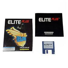 "Elite Plus IBM PC Video Game BIG BOX 1991 Microplay Software RARE 3 1/2"" Disc"
