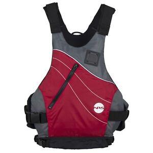 NRS-Vapor-Adult-Small-Medium-PFD-Type-III-Boating-Kayak-Life-Jacket-Vest-Red