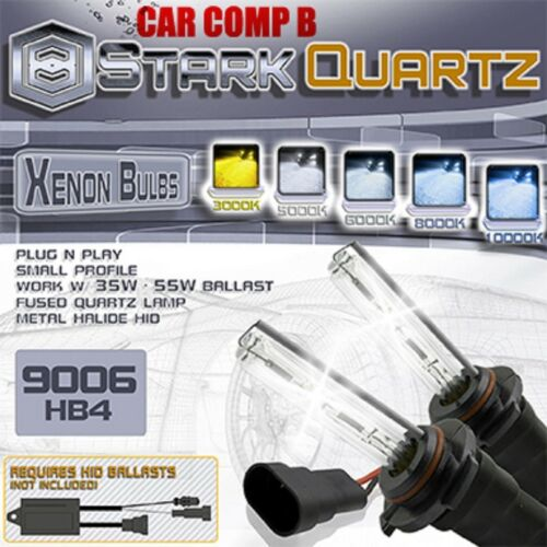 55W HID Xenon Replacement Bulbs for Kit Low Beam Bulbs 9006 HB4 Stark 35W