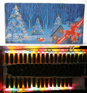 90s Christmas Lights.Details About Rare Vintage 90 S Christmas 35 Tree Lights Decoration Indoor New Nos