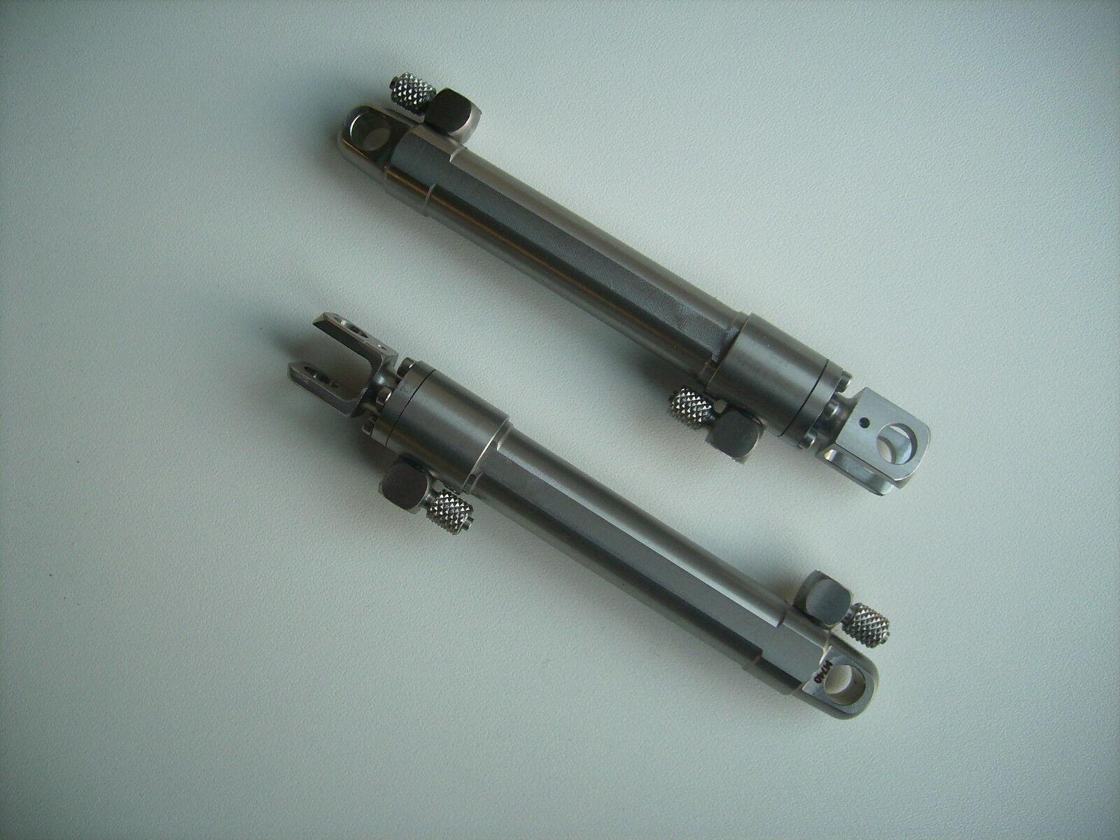 GBH 0109 cilindros hidráulicos para hubgerüst laderaupe Carson 2 unid. de acero inoxidable
