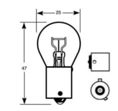 sil777 Silver Indicator Bulbs 581 VOLKSWAGEN Transporter T5 20