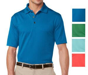 New-Grand-Slam-Men-Ottoman-Ribbed-Comfort-Performance-Golf-Polo-Big-amp-Tall-Sizes