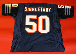 finest selection 5fd45 15ecd Details about MIKE SINGLETARY CUSTOM CHICAGO BEARS JERSEY NUMBERS