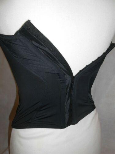 Details about  /La Senza Black Top Corset Corsage Padded Bra Remov Straps Women Size S,M