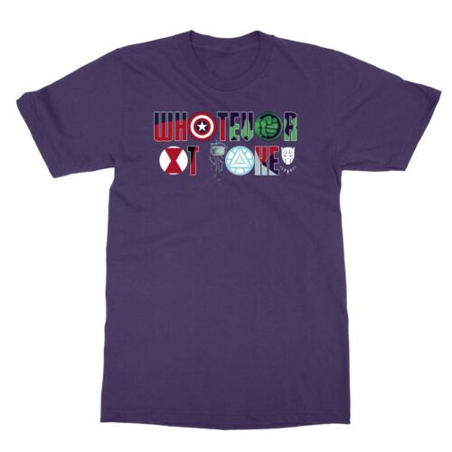 New Avengers Endgame Whatever It Takes to Keep the Secrets Intact Men/'s T-shirt